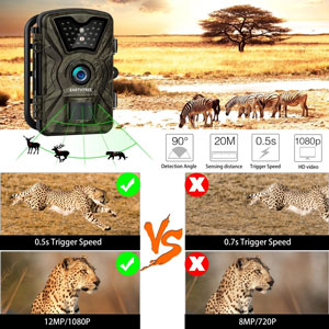 Earthtree FHD 1080P Trail Camera 2
