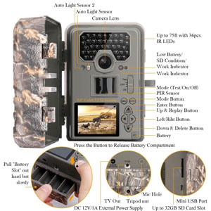 TEC.BEAN Game & Hunting Camera Review