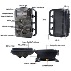 XIKEZAN 1080P HD Trail & Game Camera 2