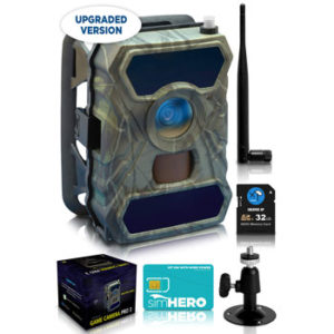 CreativeXP HD Cellular Trail Camera PRO3 with 56 No Glow IR LEDs